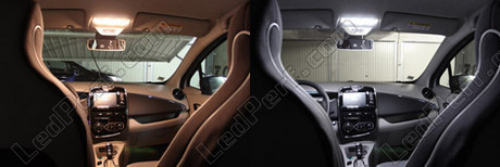 pack full led interior for renault twingo 3. Black Bedroom Furniture Sets. Home Design Ideas