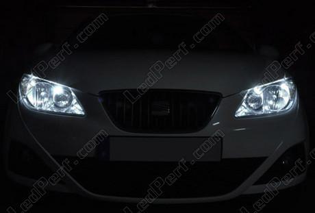 pack led sidelights for seat ibiza 6j parking lights. Black Bedroom Furniture Sets. Home Design Ideas