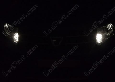 pack led sidelights daytime running lights for skoda citigo drl. Black Bedroom Furniture Sets. Home Design Ideas
