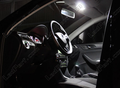 Pack Full LED interior for Skoda Rapid