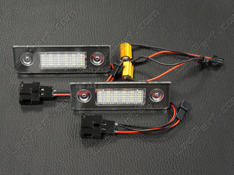 Led License Plate Module Skoda Roomster Tuning
