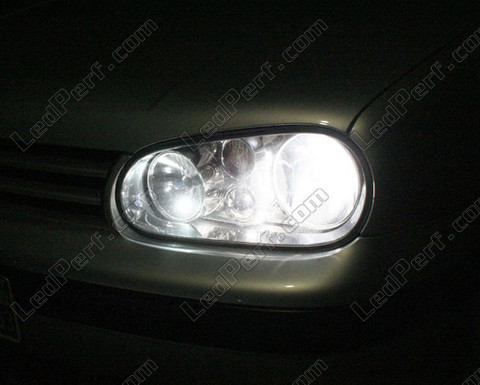 pack headlights xenon effect bulbs for volkswagen golf 4. Black Bedroom Furniture Sets. Home Design Ideas