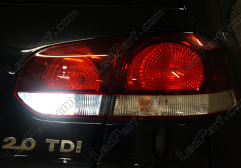 pack led backup lights for volkswagen golf 6 vi. Black Bedroom Furniture Sets. Home Design Ideas