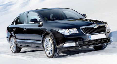 pack led daytime running lights for skoda superb 3t without xenon. Black Bedroom Furniture Sets. Home Design Ideas