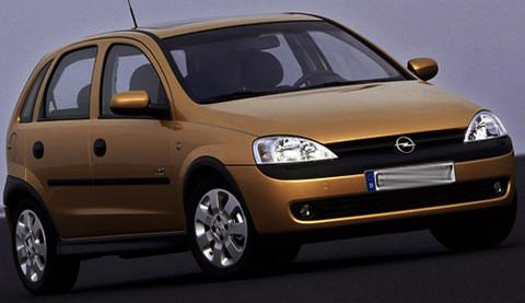 LED Kit for meter/dashboard Opel/Vauxhall Corsa C blue/red/white/green
