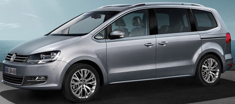 Volkswagen Sharan 2010 and 7n