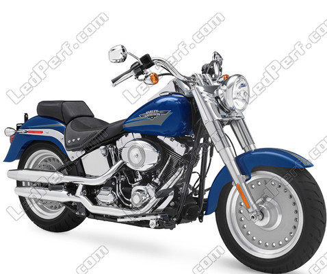 Motorcycle Harley-Davidson Fat Boy 1584 - 1690 (2007 - 2017)