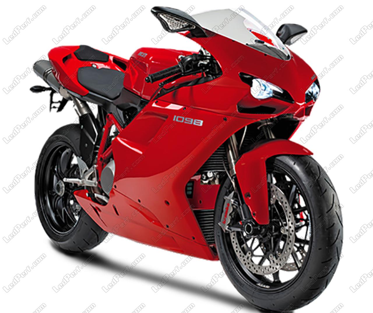 Outstanding Additional Led Headlights For Motorcycle Ducati 1098 Wiring 101 Jonihateforg