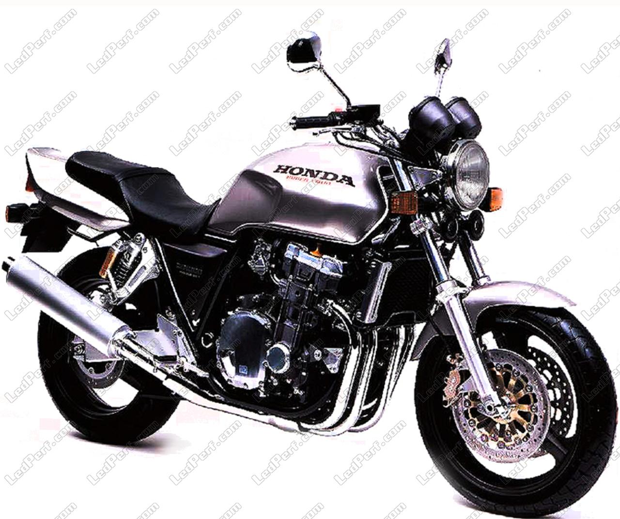 additional led headlights for motorcycle honda cb 1000 big one. Black Bedroom Furniture Sets. Home Design Ideas