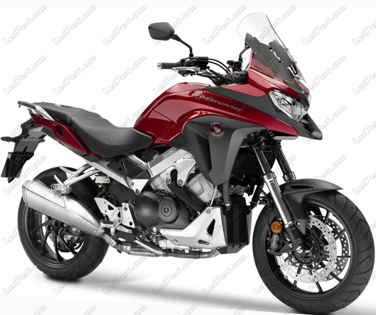 Additional Led Headlights For Motorcycle Honda Vfr 800 X Crossrunner