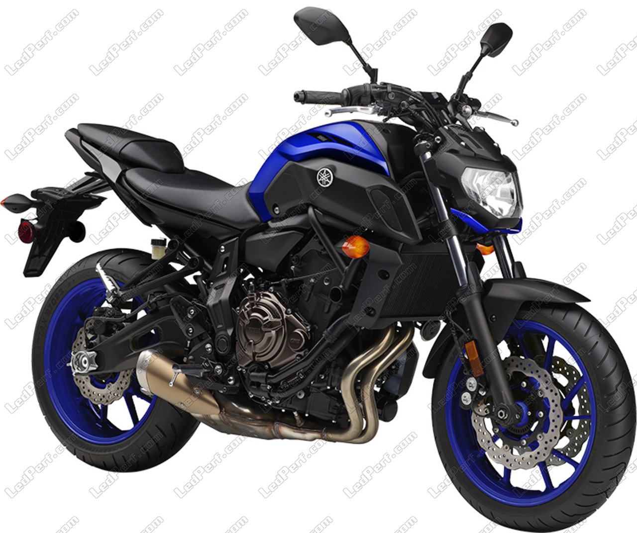 Additional Led Headlights For Motorcycle Yamaha Mt 07 2018 2019