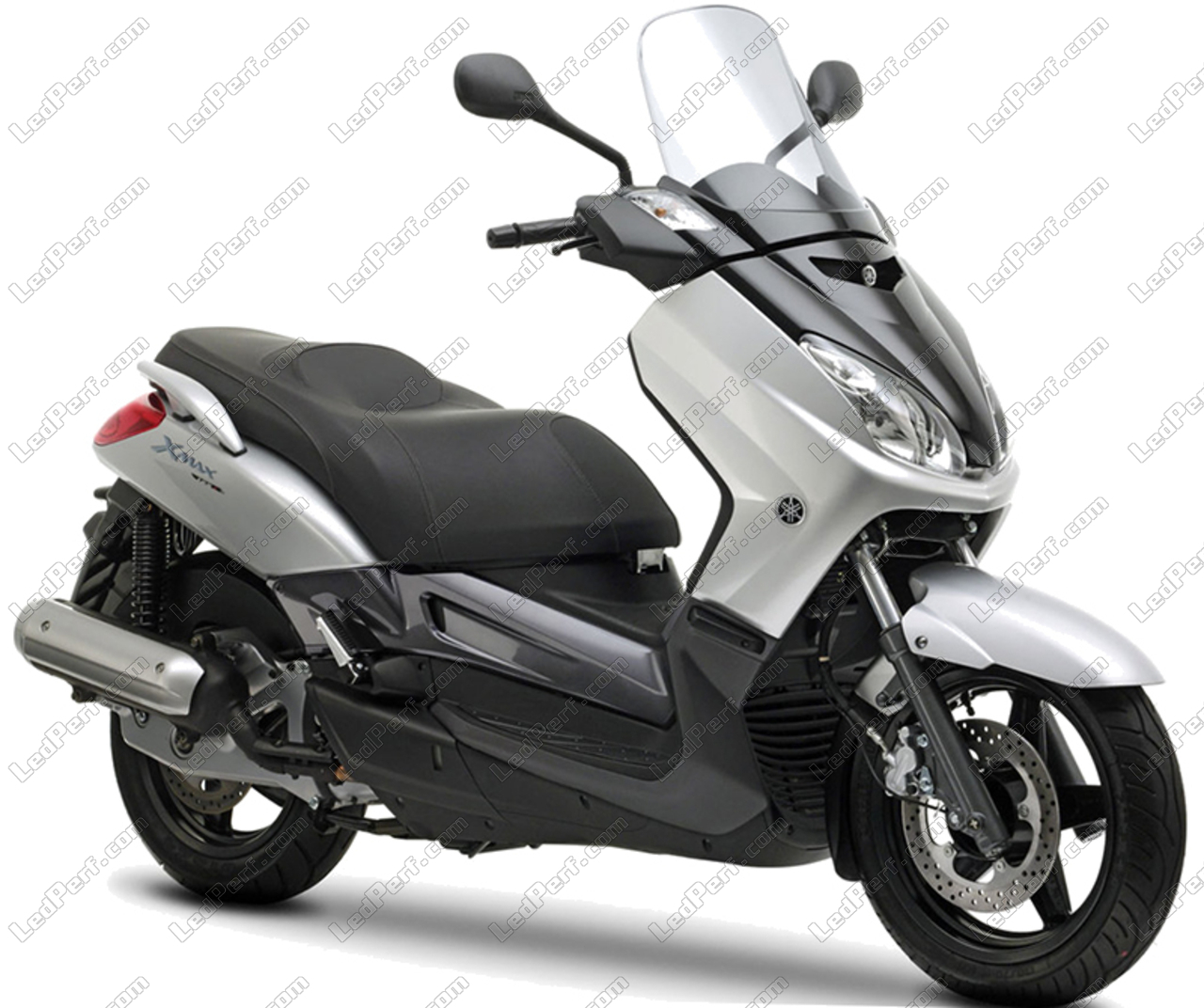 הגדול Additional LED headlights for scooter Yamaha X-Max 125 (2006 - 2009) AF-48