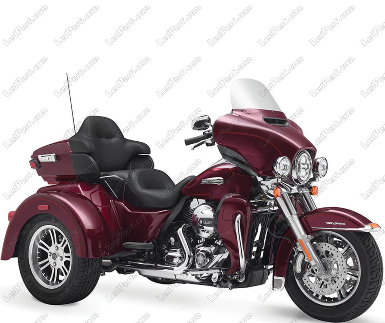Harley-Davidson Tri Glide Ultra 1690 - 1745 Xenon HID conversion Kit