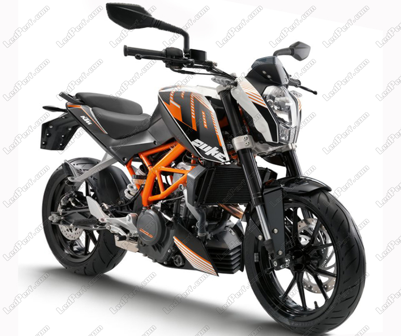ktm duke 390 canbus bi xenon hid conversion kit 4300k. Black Bedroom Furniture Sets. Home Design Ideas