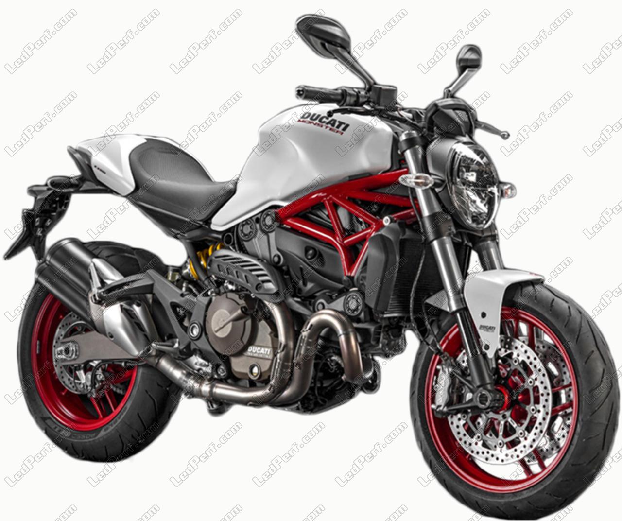 Ducati Monster 821 >> Led Bulb Kit For Ducati Monster 821 Motorcycle