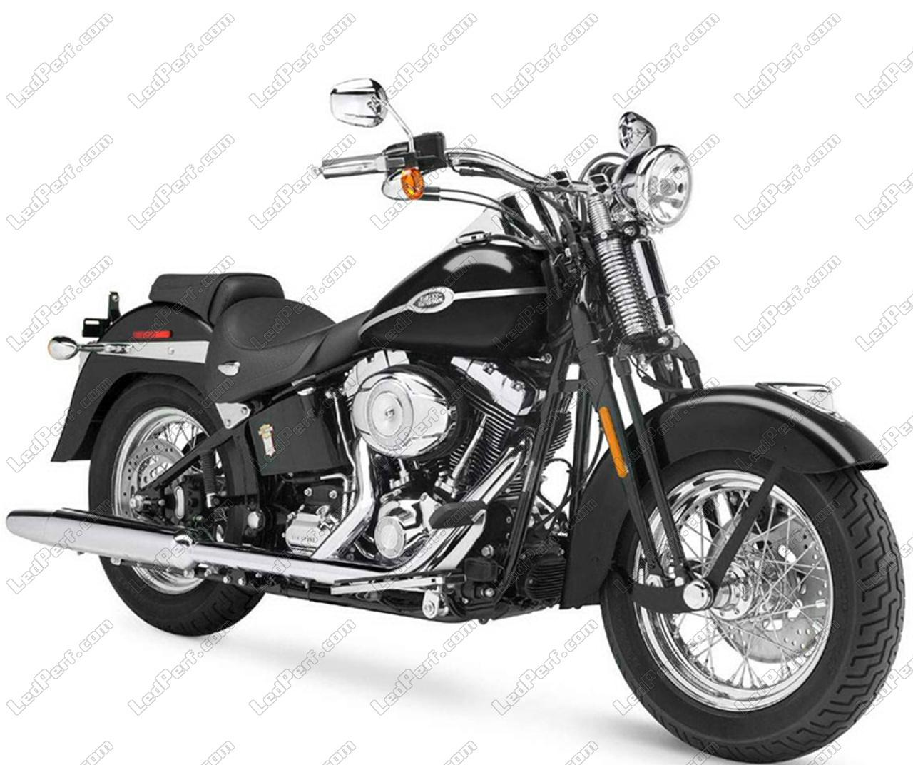 LED Conversion Kit Bulb for Harley-Davidson Springer Classic 1450 - Mini  Size