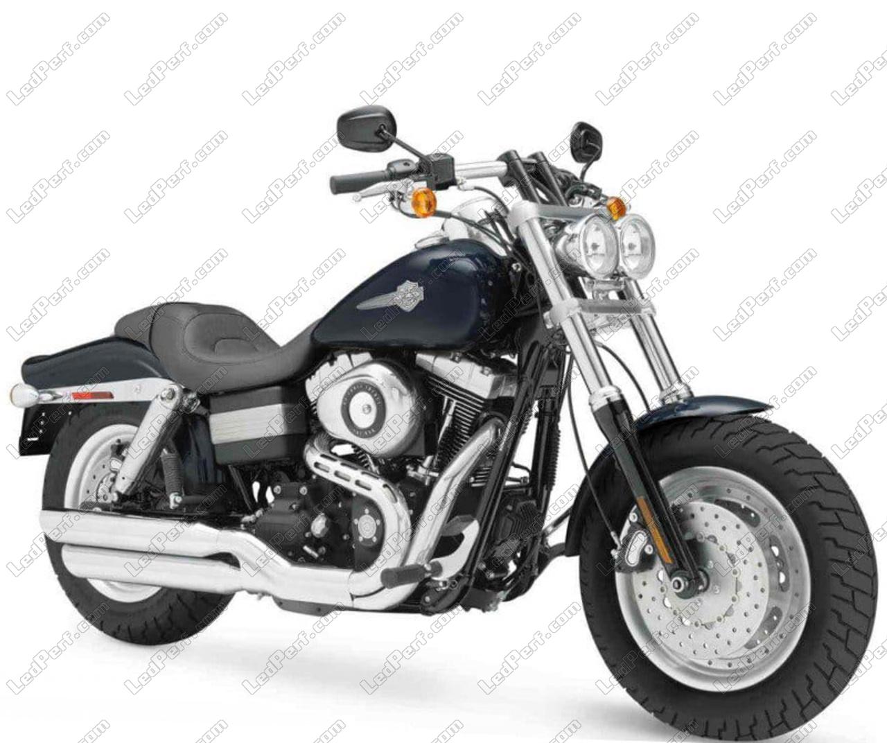 Harley Davidson Fat Bob >> Pack Front Led Turn Signal For Harley Davidson Fat Bob 1584