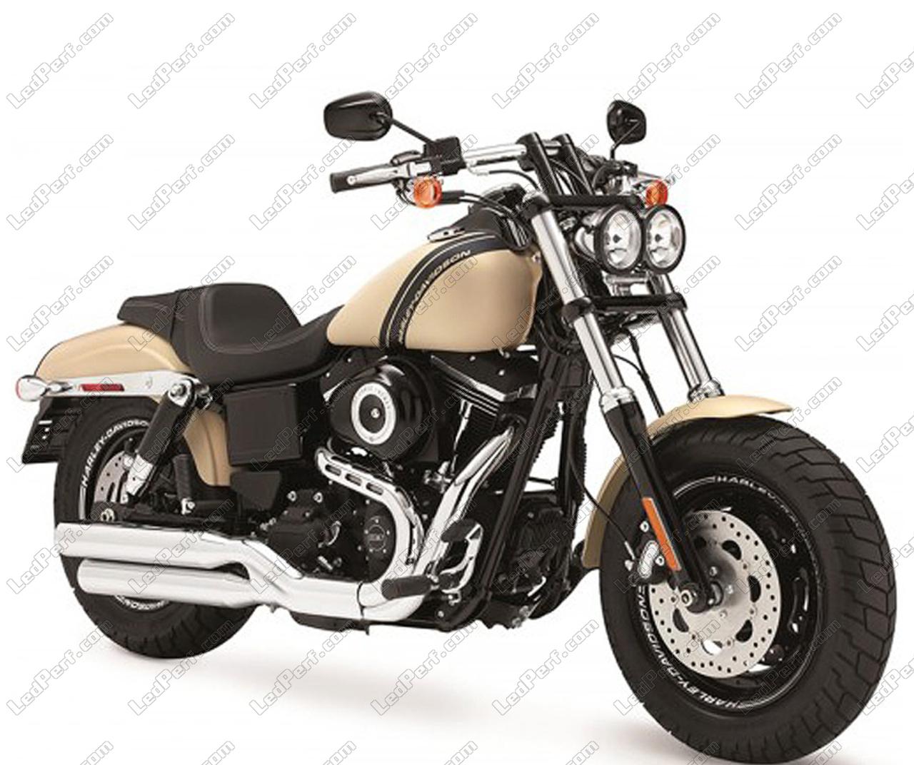 Harley Davidson Fat Bob >> Pack Rear Led Turn Signal For Harley Davidson Fat Bob 1690