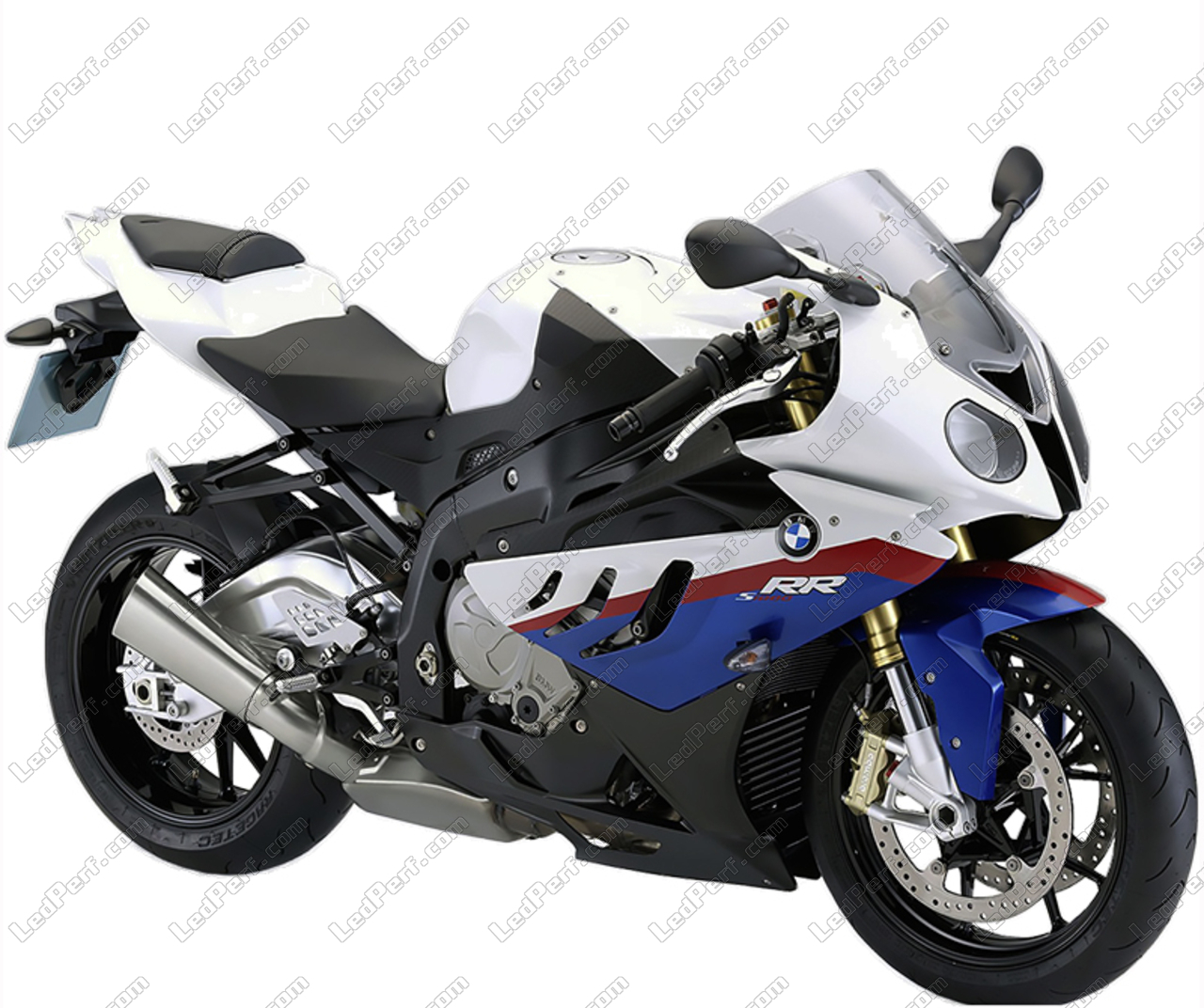 Pack Sidelights Led Xenon White For Bmw Motorrad S 1000 Rr 2009 2015