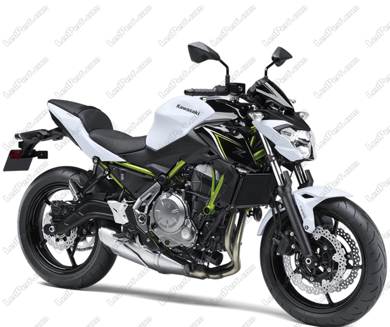 Kawasaki Z650: Pack LED Sidelights For Kawasaki Z650 (side Lights