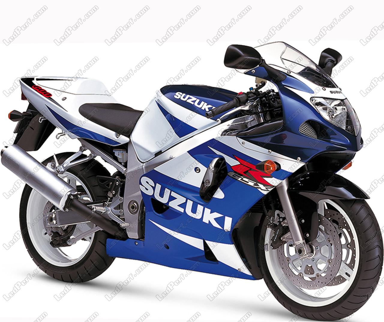 Suzuki Gsxr 600 >> Pack Sidelights Led Xenon White For Suzuki Gsx R 600 2001 2003
