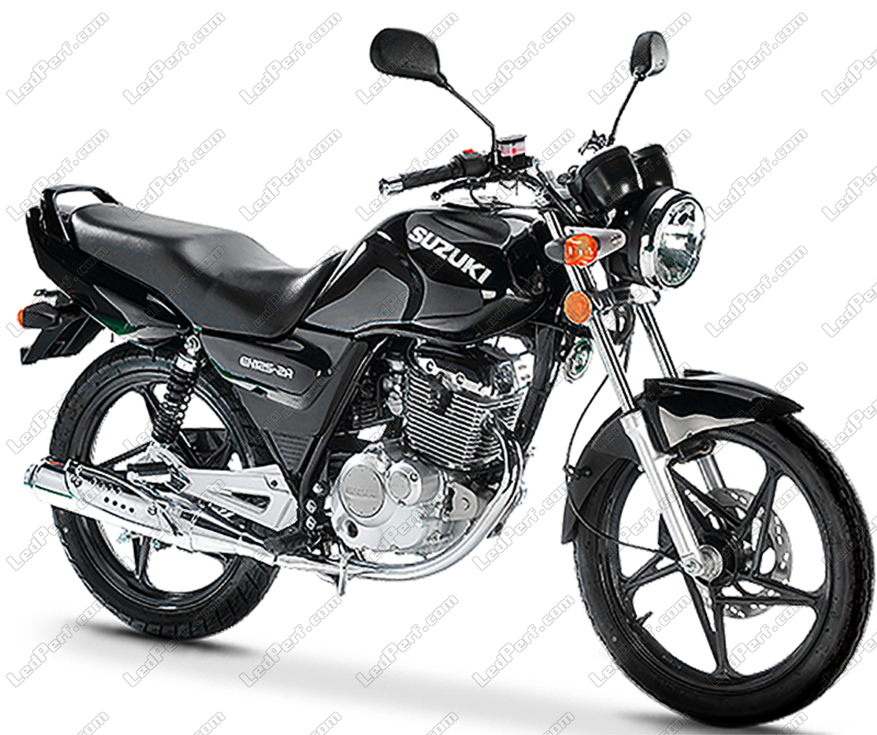 Suzuki GN 125 Bi Xenon HID conversion Kit
