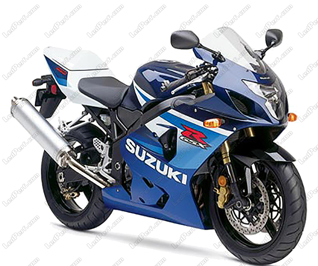 Additional Led Headlights For Motorcycle Suzuki Gsx R 600
