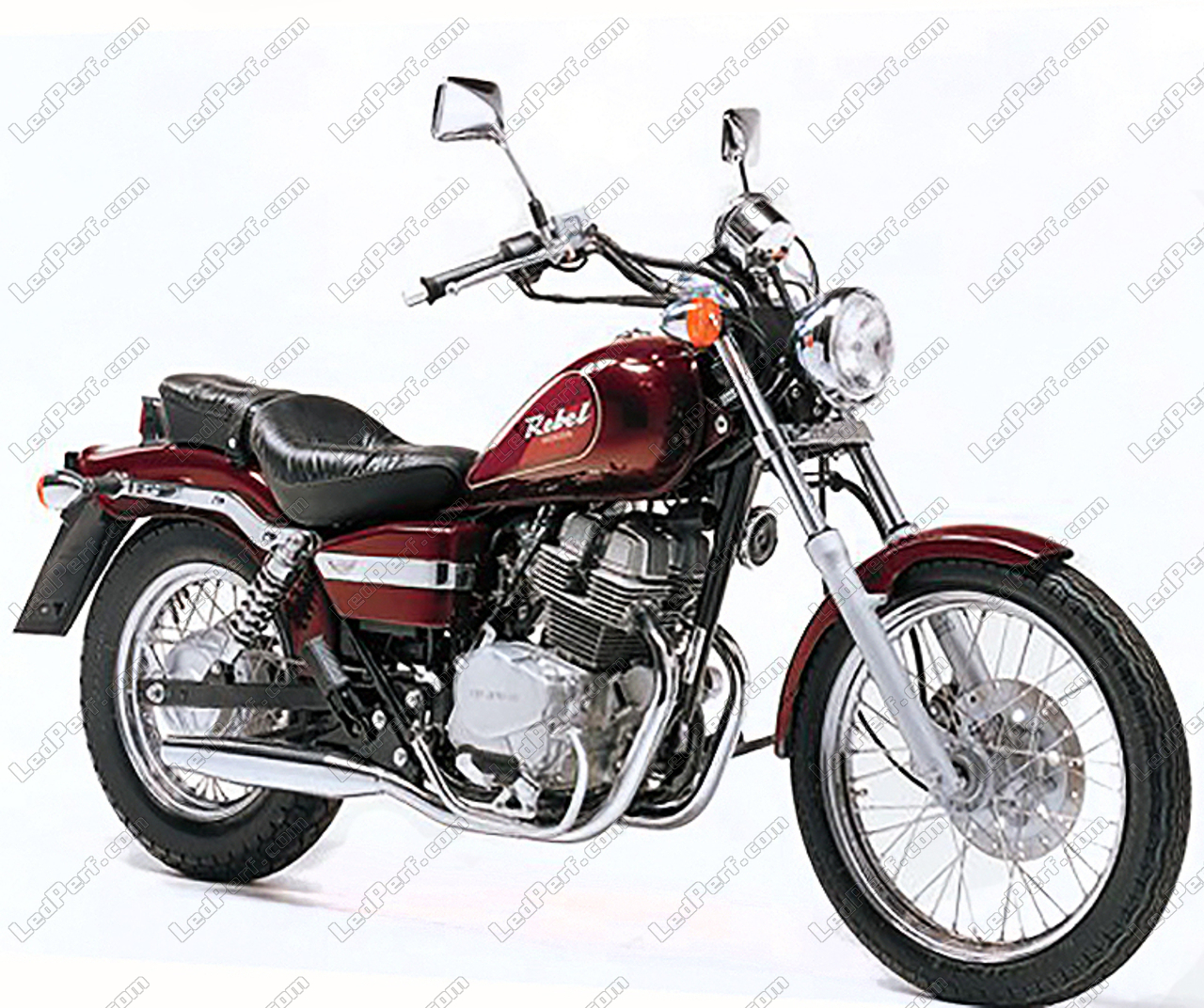 honda rebel 250 canbus bi xenon hid conversion kit 4300k. Black Bedroom Furniture Sets. Home Design Ideas