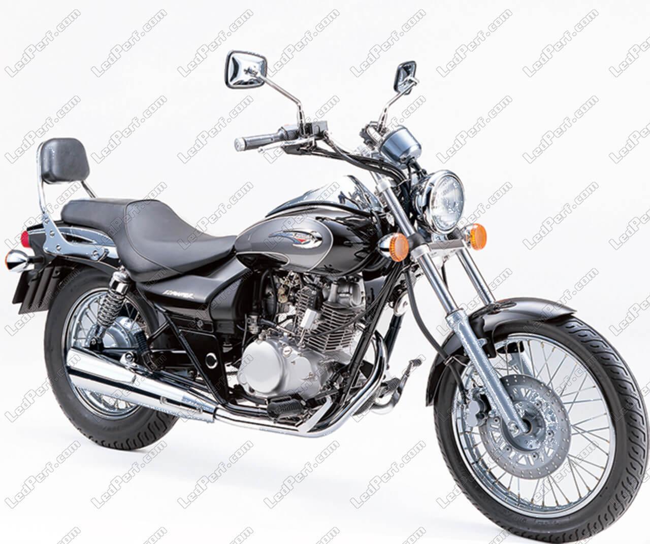 LED Bulb Kit for Kawasaki Eliminator 125 Motorcycle