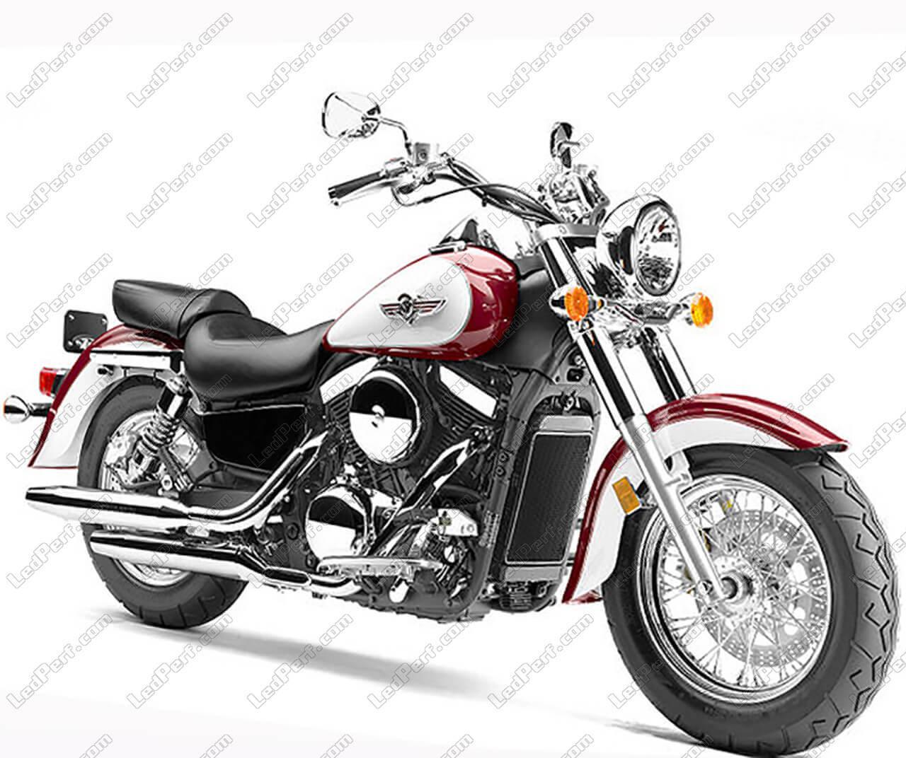additional led headlights for motorcycle kawasaki vn 1500. Black Bedroom Furniture Sets. Home Design Ideas