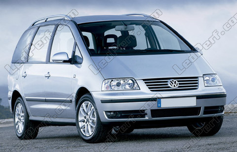 car Volkswagen Sharan 7M (2001 - 2010)