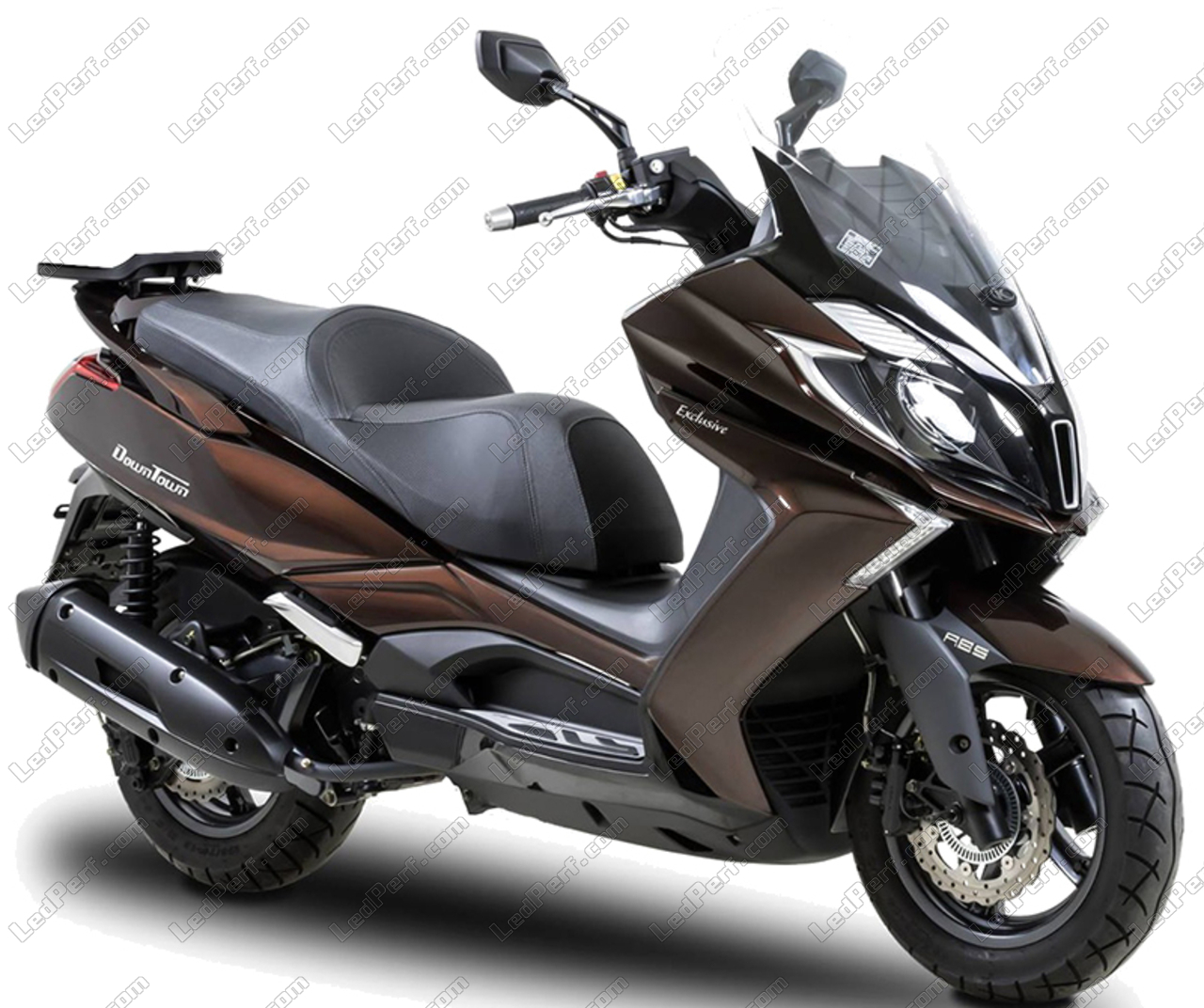 pack front led turn signal for kymco downtown 350. Black Bedroom Furniture Sets. Home Design Ideas