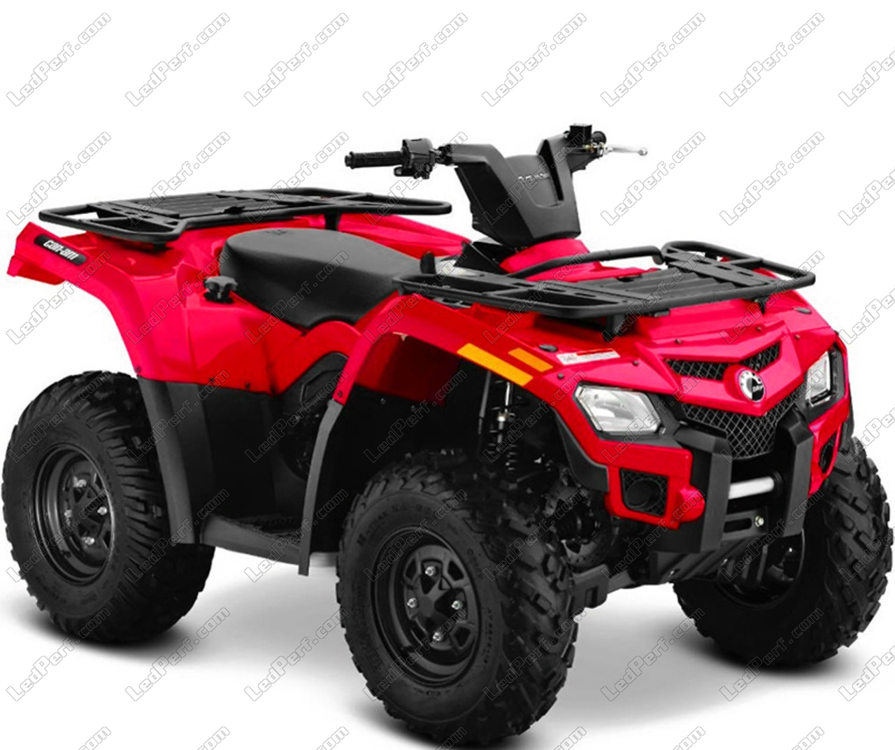 Additional Led Headlights For Atv Can Am Outlander 400
