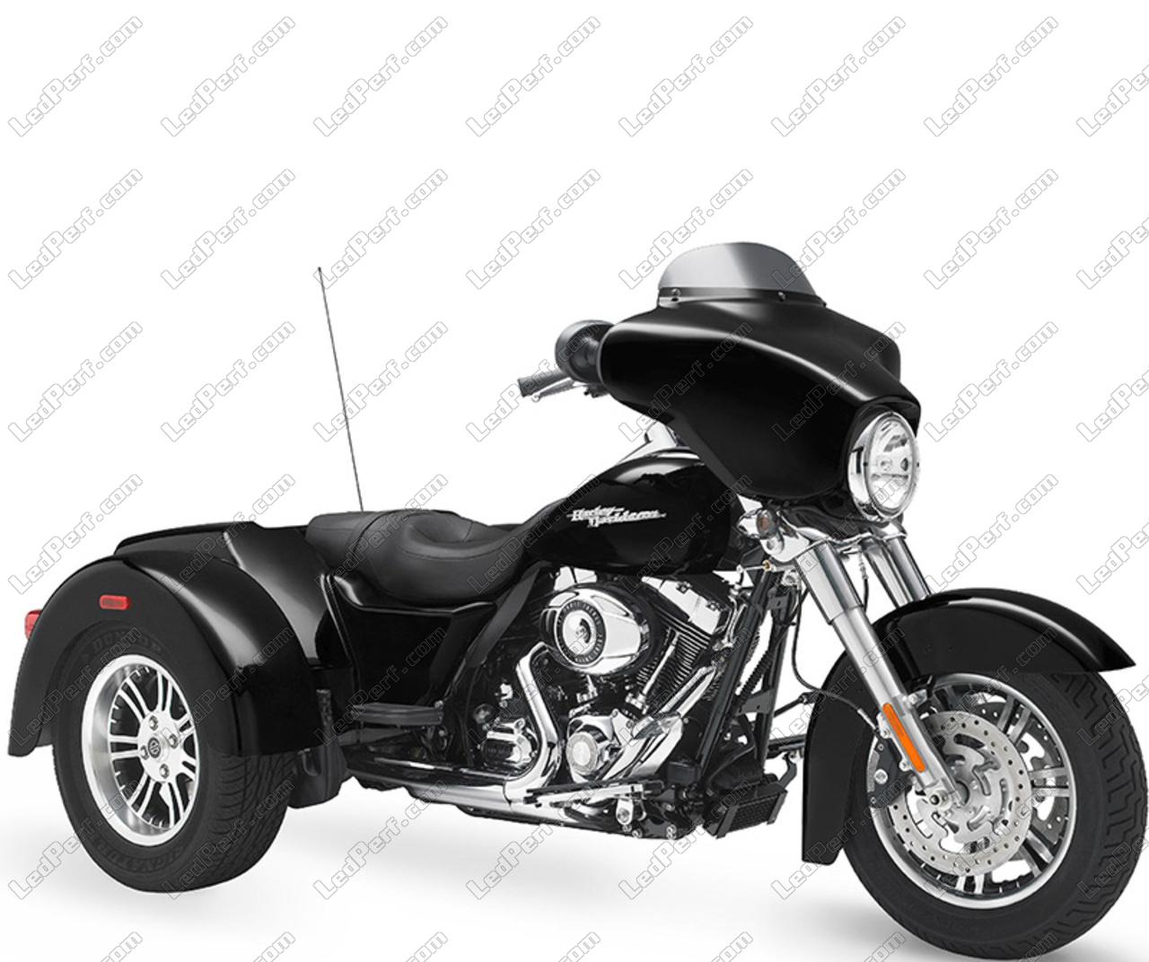 Led Bulbs For Harley Davidson Street Glide Trike 1690