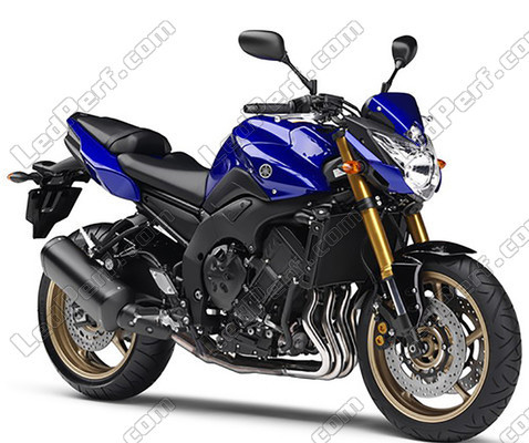 pack headlights xenon effect bulbs for yamaha fz8. Black Bedroom Furniture Sets. Home Design Ideas