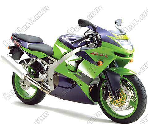 kawasaki ninja zx 6r 1998 1999 canbus bi xenon hid conversion rh ledperf co uk 2006 Kawasaki ZX6R 2018 Kawasaki ZX6R