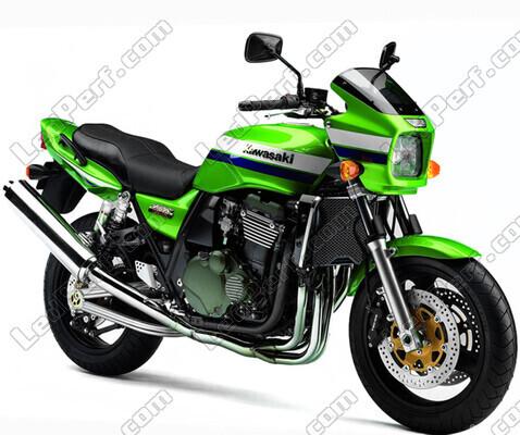 Pack Headlights Xenon effect bulbs for Kawasaki ZRX 1200 R
