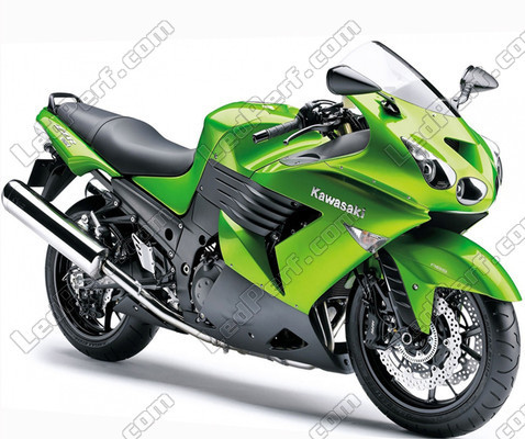 Pack LED sidelights for Kawasaki ZZR 1400 (ZX-14R) (side lights)