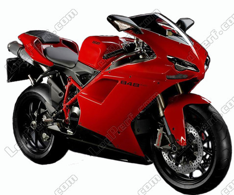 Pack LED sidelights for Ducati 848 (side lights)