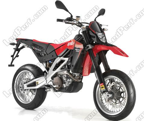 additional led headlights for aprilia rxv sxv 550 rh ledperf co uk Aprilia Motorcycles Aprilia SXV 550 Top Speed