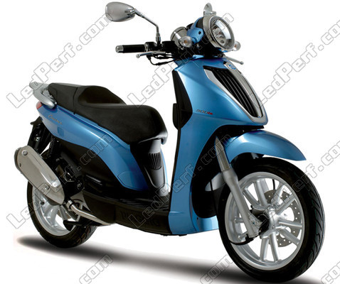 Additional LED headlights for scooter Piaggio Carnaby 300