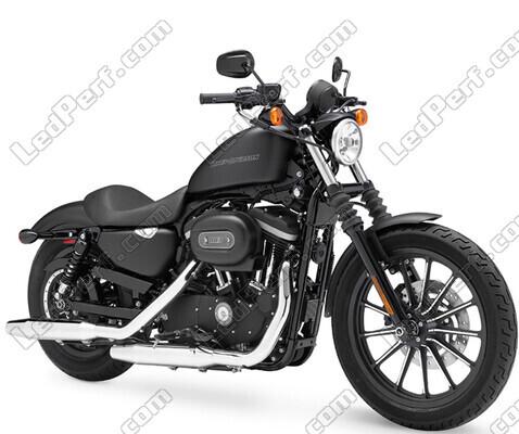 Pack Rear Led Turn Signal For Harley Davidson Iron 883