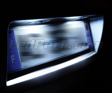 Pack LED License plate (Xenon White) for Audi A8 D4