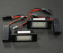 Pack of 2 LEDs modules license plate VW Audi Seat Skoda (type 8)