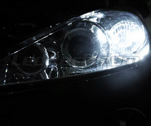 Pack sidelights LED (xenon white) for 4007