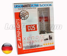Bulb Alpha-Lights Xenon D2S 5000K LASER WHITE ULTRA - Made in Germany