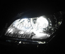 Pack sidelights LED (xenon white) for Renault Megane 3