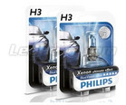 Pack of 2 bulbs H3 Philips BlueVision Ultra