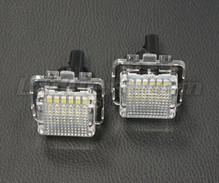 Pack of 2 LEDs modules license plate MERCEDES (type 3)