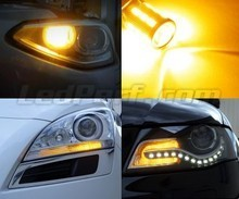 Pack front Led turn signal for Peugeot 607
